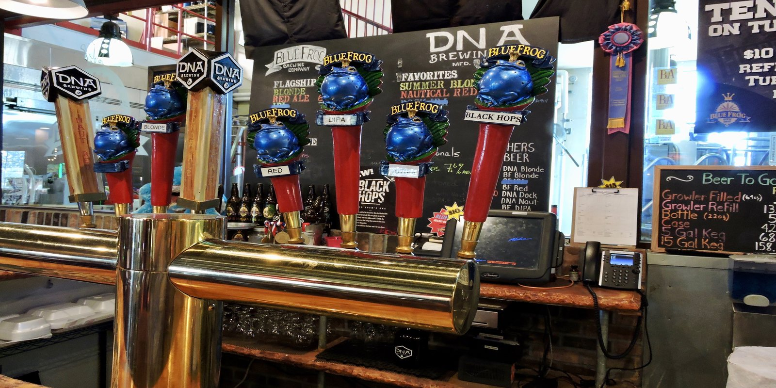 Image of DNA/Blue Frog Brewery